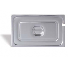 Plain lid with handle – notched for spoon