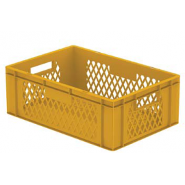 Stackable Box with Hand Holes – Side Perforated